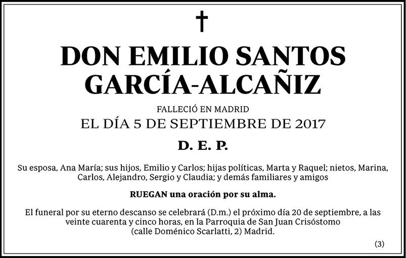 Emilio Santos García-Alcañiz
